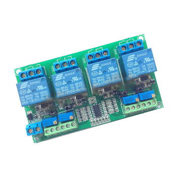 4 way relay module patru canale tensiune circuit comparator modul LM339 LM393 circuit 5Vor 12V or24V