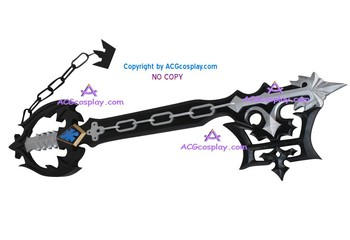 Kingdom Hearts Uitare Keyblade negru keyblade cosplay recuzită 38inches PVC făcut ACGcosplay