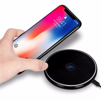 Moveski N10 Inductiv Rapid Încărcător Wireless Station Pad QI Rapid 2.0 pentru iPhone 8 8 Plus iPhone X, Samsung Galaxy Note 8 S8