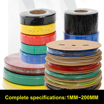 Ping 200meters/set 4.0 MM heat Shrink Tubing Tub Sleeving Folie de Sârmă de Cablu